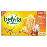 Belvita Breakfast Yogurt Crunch Honey & Live Yogurt Biscuits 253G
