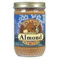 Once Again Smooth Almond Butter No Salt 9 LB