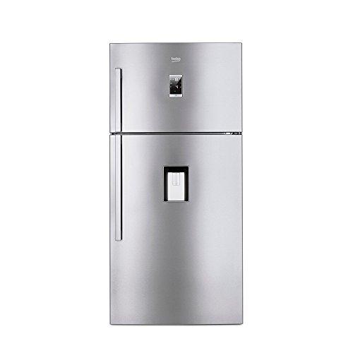 Beko DN162232DJIZX Libera installazione 385L 122L A++ Acciaio inossidabile frigorifero con congelatore
