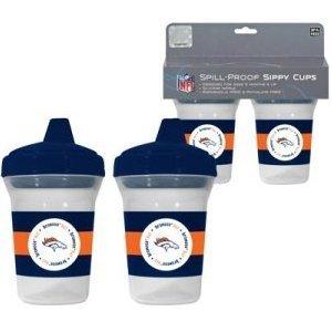 Nfl Denver Broncos 2 Pack Sippy Cup front-317118