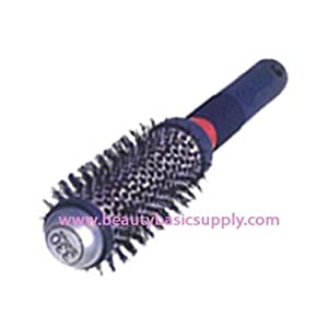 Cricket Technique Barrel Hair Brush, Medium Round, 1 1/4 Inch