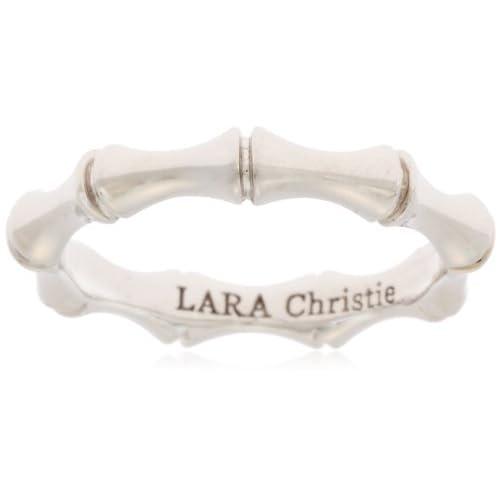 [ララクリスティー]LARA Christie 指輪 バンブー リング [ WHITE Label ] R6027-W-7 日本サイズ7号