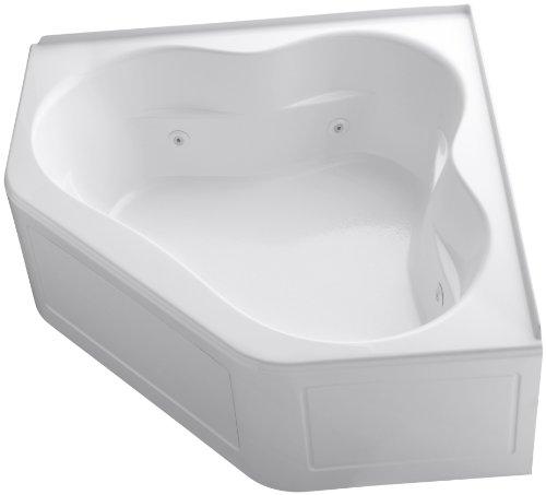 Kohler K-1160-La-0 Tercet Whirlpool, White front-607702