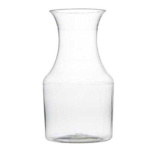 7.5oz Plastic Mini Wine Carafe Pitcher-6 Pieces Clear (Mini Plastic Pitcher compare prices)