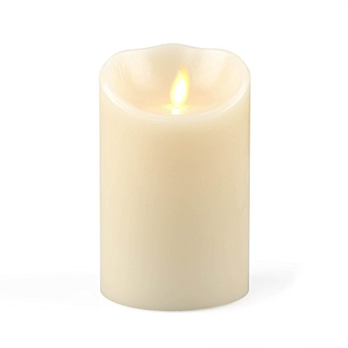 Flameless Real Wax Moving Wick Led Candle For Import It All
