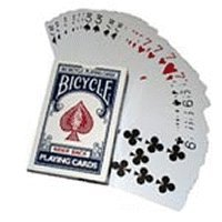 Three Way Forcing Deck Bicycle - blue