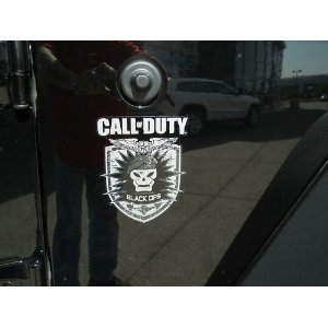 Buy JEEP Call Of Duty Black Ops Sticker Package MOPAR COD : Amazon.com