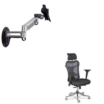 KITBLT34434BLT66582 - Value Kit - Balt Dual Arm Wall Mount (BLT66582) and Balt Ergo Ex Executive Office Chair (BLT34434) coupon codes 2016