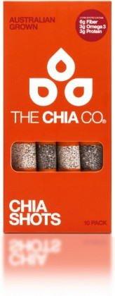 The Chia Co チアシード ショット 黒&白 8g x 10袋