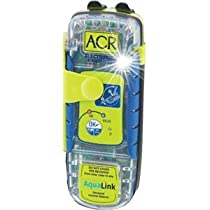 ACR Aqualink 406 2882 Personal Locator Beacon Includes Internal GPS, 5-Year Battery, Belt Clip, Lanyard and LED Strobe Light