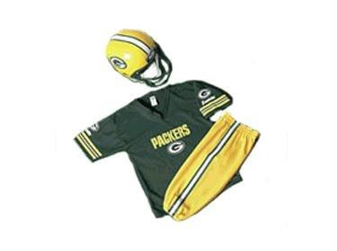 Franklin Sports Green Bay Packers NFL Youth Uniform Set Size: Medium