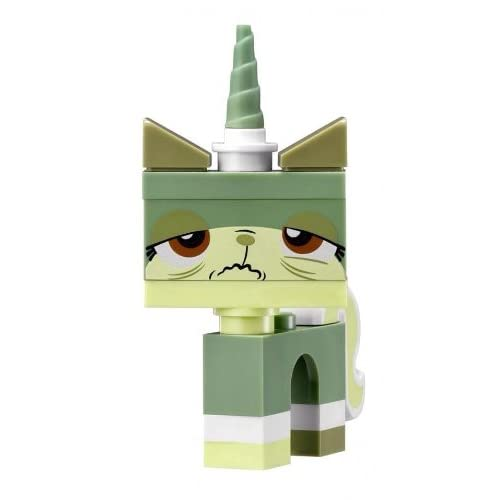 LEGO Movie Queasy Kitty Minifigure Green Unikitty Microbuild