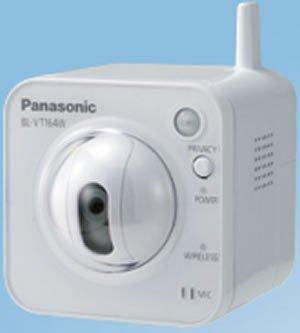 Panasonic Solutions Company Hd / 1,280 X 720 Pan-Tilt Wireless Netwo Bl-Vt164Wp