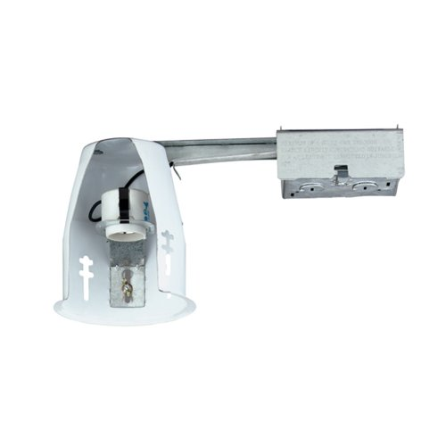 Nicor Lighting 19001AR Airtight Remodel Housing Recessed Can Light 4 Inch N
