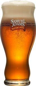 Sam Adams 16 Oz Beer Glass Set of 2. New sleek design. (Sam Adams Beer Glass Set compare prices)
