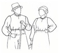 14th - 16th Century Medieval and Renaissance Shirt Pattern