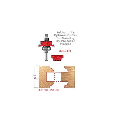 Freud 99-860 Optional Cutters Double Sided Doors for 99-760 New Premier Adjustable Rail & Stile Router Bit System (Freud Tools compare prices)