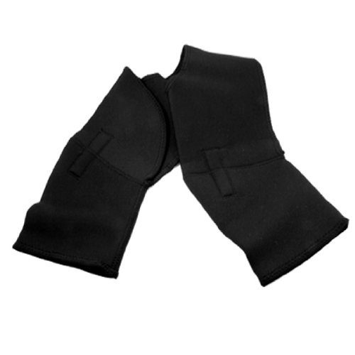 Black Elastic Double Shoulder Support Brace Protector