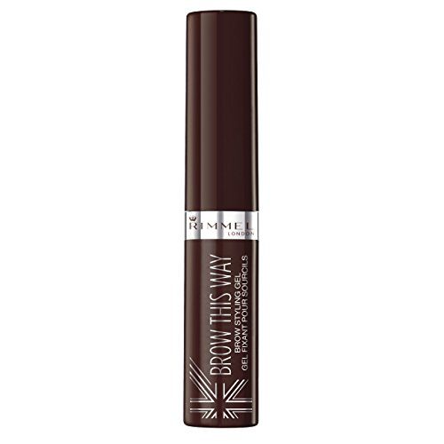 Rimmel Brow This Way, Gel per sopracciglia, castano scuro