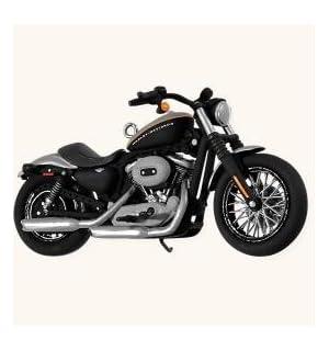 2008 Hallmark Ornament 2008 XL 1200N Sportster 1200 Nightster # 10 Harley-Davidson Motorcycle Milestones Series
