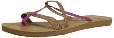 Rip Curl Womens Jordan Thong Sandals TGTAJ1 Tan 3.5 UK, 36 EU
