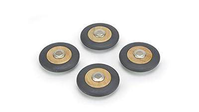 Tegu Magnetic Wooden Speed Wheels (4 Pack)