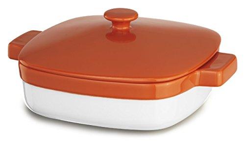 KitchenAid KBLR19CRPN Streamline Ceramic 1.9-Quart Casserole Bakeware - Persimmon