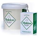 Maldon Sea Salt - Flaky Pyramid-Shaped Cystals - 3.3 lbs(1.5kg)