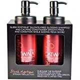 Catwalk By Tigi - Straight Collection Sleek Mystique Tweens - Glossing Shampoo 750ml & Calming Conditioner 750ml