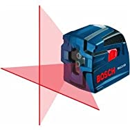 Robt. Bosch Tool GLL2-10 Self-Leveling Cross-Line Laser Level