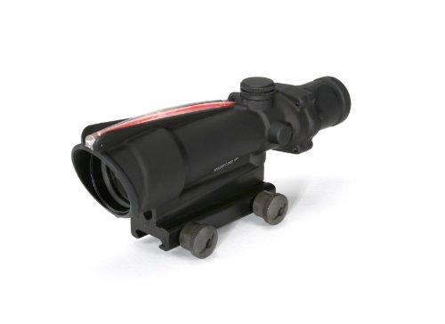 Acog 3.5 X 35 Scope Dual Illuminated Horseshoe/Dot .223 Ballistic Reticle, Red