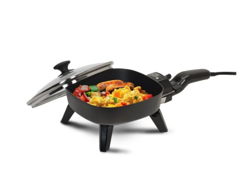 Why Should You Buy Maxi-Matic EFS-400 Elite Cuisine 7-Inch Non-Stick Electric Skillet with Glass Lid...
