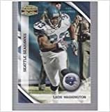 2010 Panini Gridiron Gear #131 Leon Washington Seattle Seahawks at Amazon.com