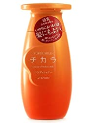 Shiseido Fitit Super Mild Chikara Hair Conditioner 200ml