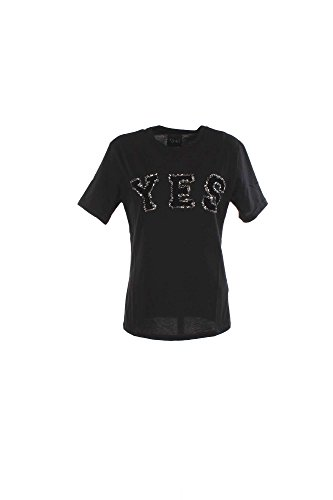 T-shirt Donna Shiki 16ISK34068 Nero Autunno/Inverno Nero L