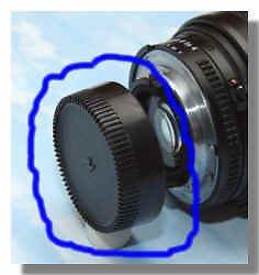 Brand new Rear Lens Cap / Cover For nikon a/f Lens 18-55mm