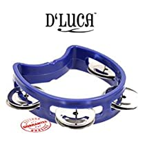 DLuca 4 Inches Childs Tambourine Blue TW-4BL