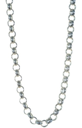 925 Sterling Silver Gents Belcher Chain - 18