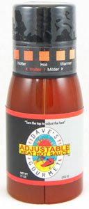 Daves Adjustable Heat Hot Sauce by dave's gourmet