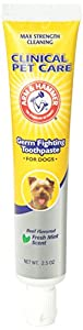 Arm and Hammer Clinical Care Enzymatic Gum Health Beef Flavor Toothpaste for Dogs