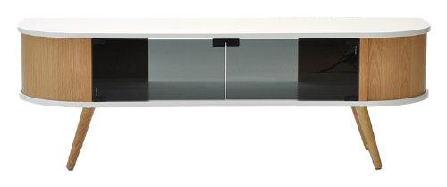 Cheap  Rge Designs Multi Media TV Storage and Display Unit Hugo MDF/ Veneer/ Solid Oak