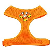 Candy Corn Design Soft Mesh Harnesses Orange Large
