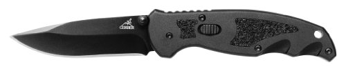 Gerber 31-000578 Answer Sm Fine-Edge Clip Folding Knife