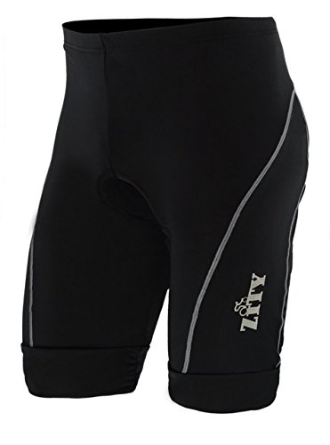 Mens 3D Gel Padded Biking Cycling Shorts Road Bike Black Large (Road Cycling Jersey And Shorts compare prices)