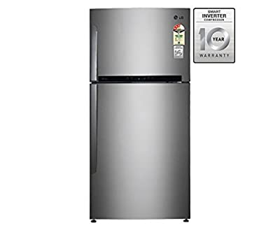 LG GR-M772HLHM Frost free Double-door Refrigerator (606 Ltrs), 3 Star Rating, )