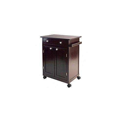 Winsome Savannah Kitchen Cart Dealtrend