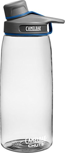 CamelBak Chute Water Bottle, 1 L, Clear (One Liter Bottle compare prices)