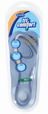 Dr. Scholl's Insoles Tri-Comfort Orthotics Men'S 8-12 (3-Pack)