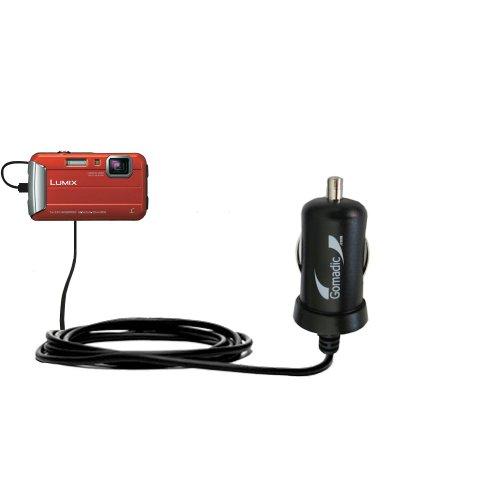 Intelligentes 2A / 10W Kompakt-Ladegerät DC kompatibel mit Panasonic Lumix DMC-TS55 mit TipExchange Technologie