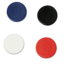 Mastervision - 2 Pack - Interchangeable Magnetic Characters Circles Assorted 3/4\